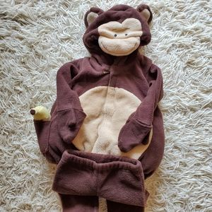 Monkey Long sleeves Costume with Matching Pants